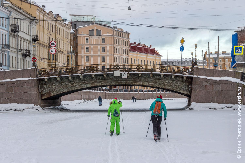 Санкт-Петербург Лыжники