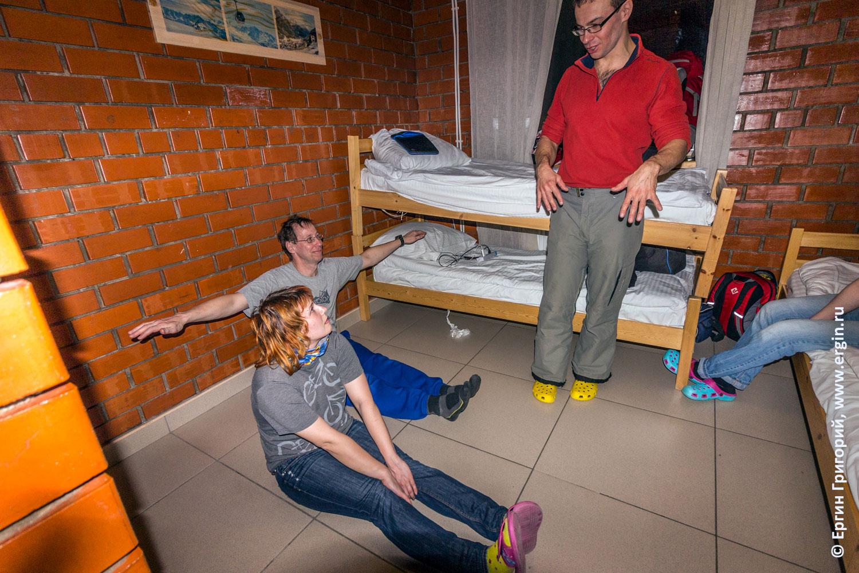 Специальная программа упражнений на суше для изучения вставания на каяке эскимосского переворота