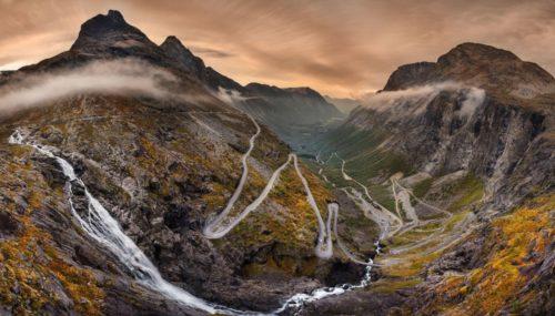 Норвегия лестница троллей