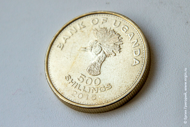 Tamron 18-400mm F/3.5-6.3 Di II VC HLD (B028) - тестирование возможностей макросъемки снимок монеты из Уганды
