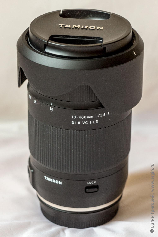 Tamron 18-400mm F/3.5-6.3 Di II VC HLD (B028) объектив с байонетом под Canon