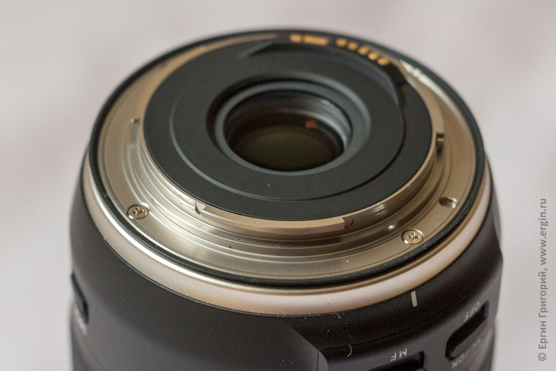 Защита от влаги и пыли резиновая прокладка Tamron 18-400mm F/3.5-6.3 Di II VC HLD (B028)
