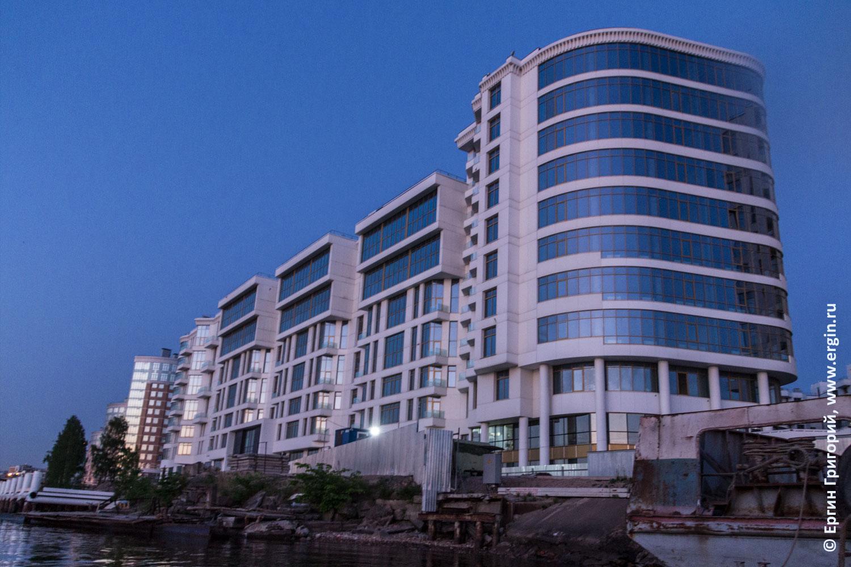 Фото жилого комплекса Леонтьевский мыс с каяка