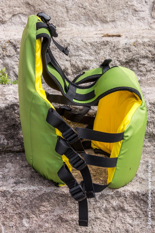 Спортивный спасжилет Тулум для гребного слалома и фристайла на бурной воде