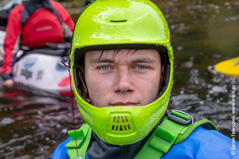 Шлем фулфейс для каякинга экстремального сплава