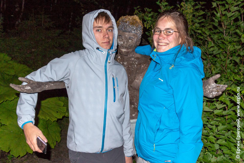Парк статуй в Финляндии Патсаспуйсто