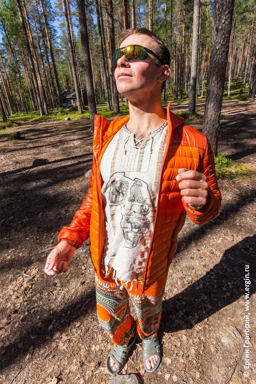 Отпуск в Лиексе Финляндия кемпинг Нейтикоски