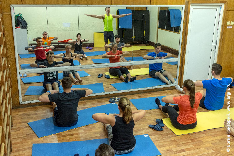 Комплекс упражнений для каякеров методика для изучения эскимосского переворота на каяке суше в спортивном зале