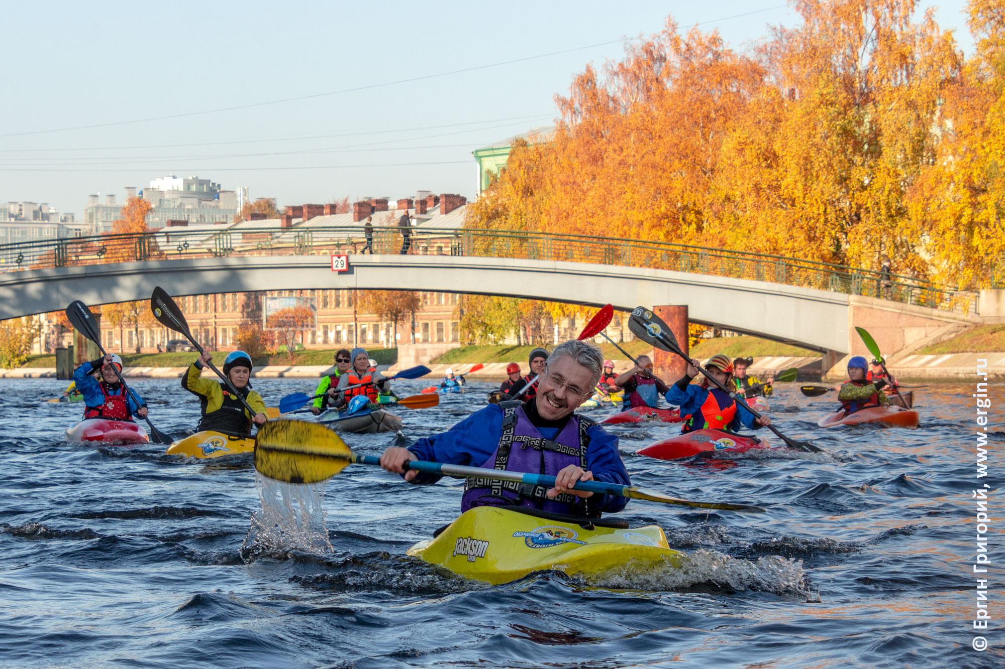 Каякинг в СПб Санкт-Петербурге Питере