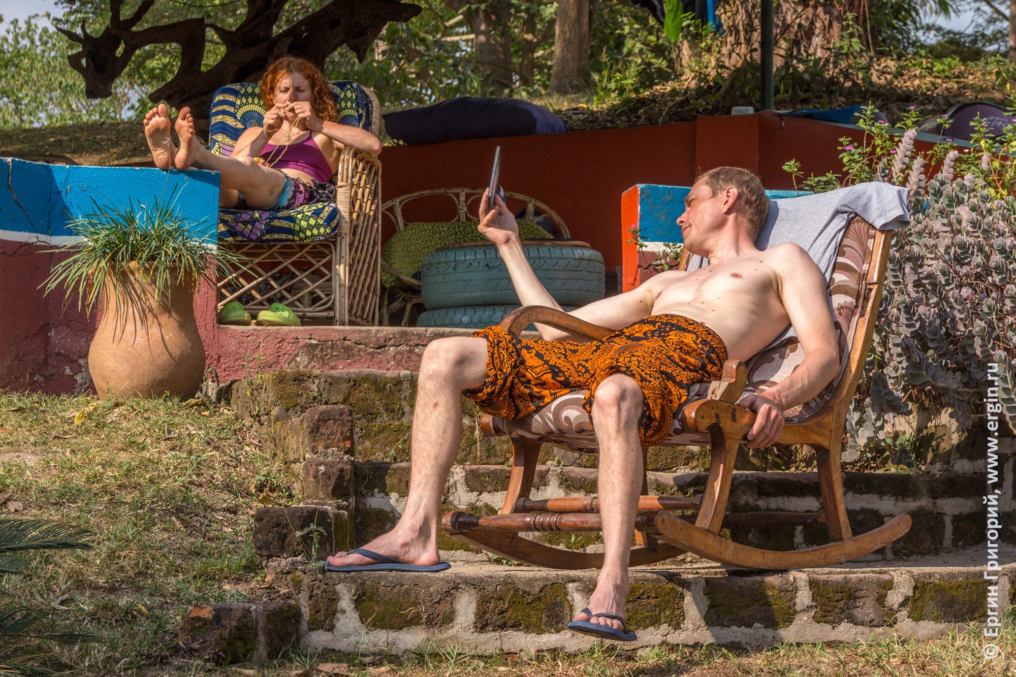 Туристы из России отдыхают в Уганде