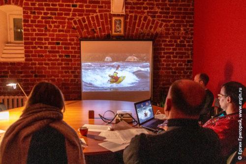 Фристайл-каякинг семинар обучение