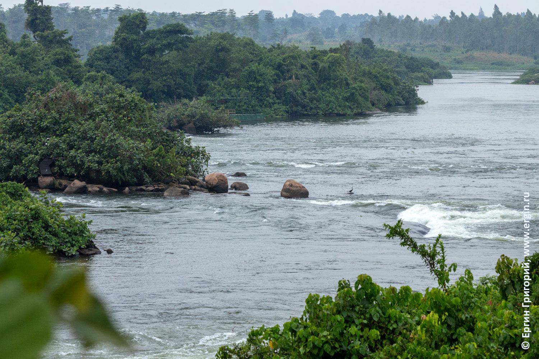 Super Hole плейспот для фристал-каякинга в Африке Уганда