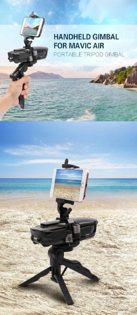 Использование видеокамеры DJI Mavic Air в качестве бытовой ручной камеры