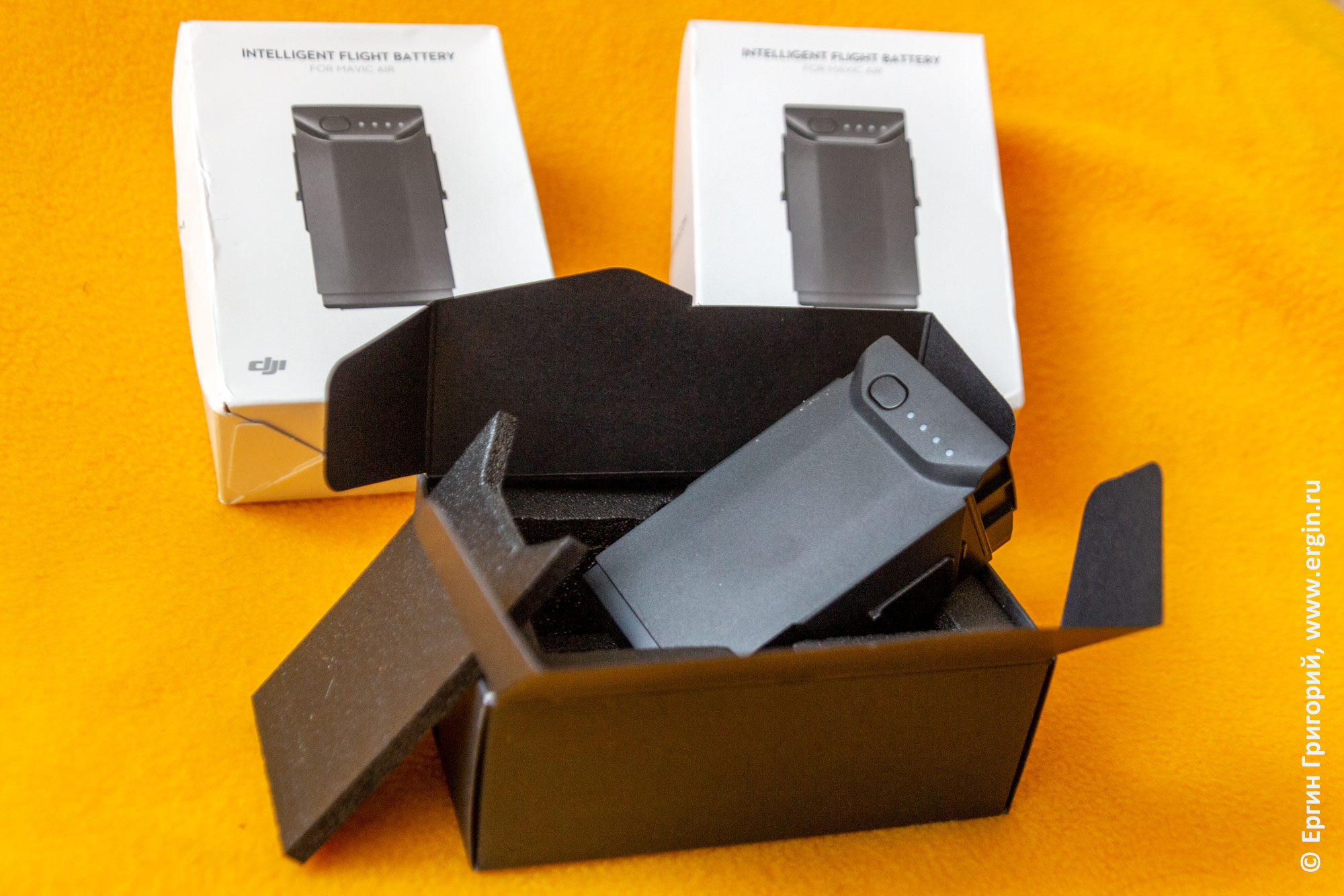 DJI Mavic Air приобретение дополнительной батареи отдельно