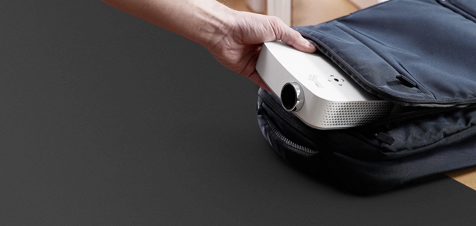 CineBeam LG PF50KS - просто носите его в портфеле или в сумке