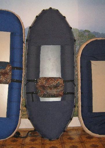 Экспедиционная лодка Налим