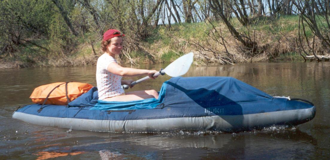 Шука байдарка семеная лодка