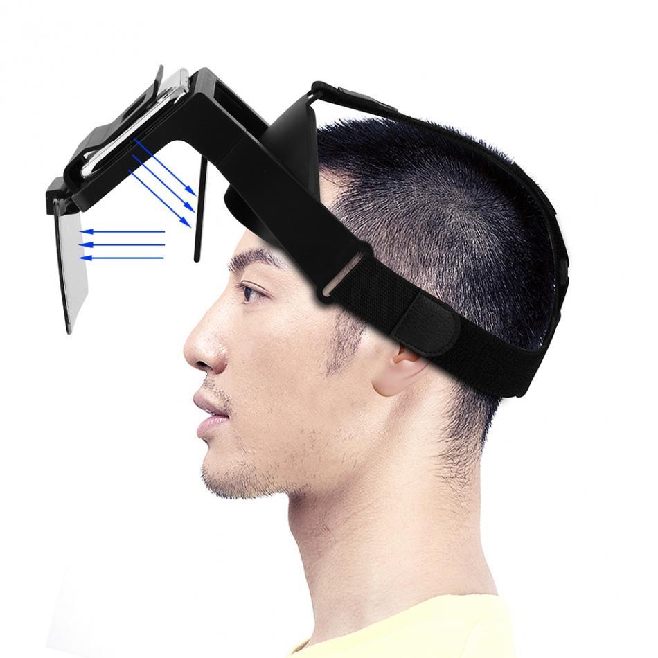 Принцип работы наголовного увеличителя экрана телефона FPV очки