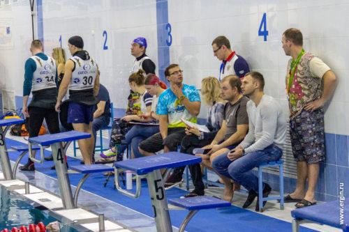 Судьи соревнований по фристайлу на бурной воде