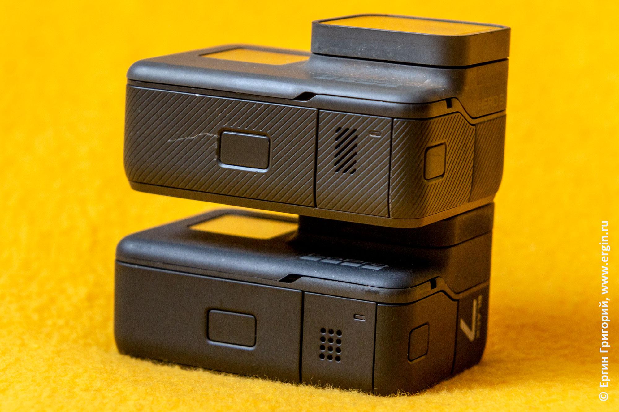 GoPro Hero 7 black вид снизу