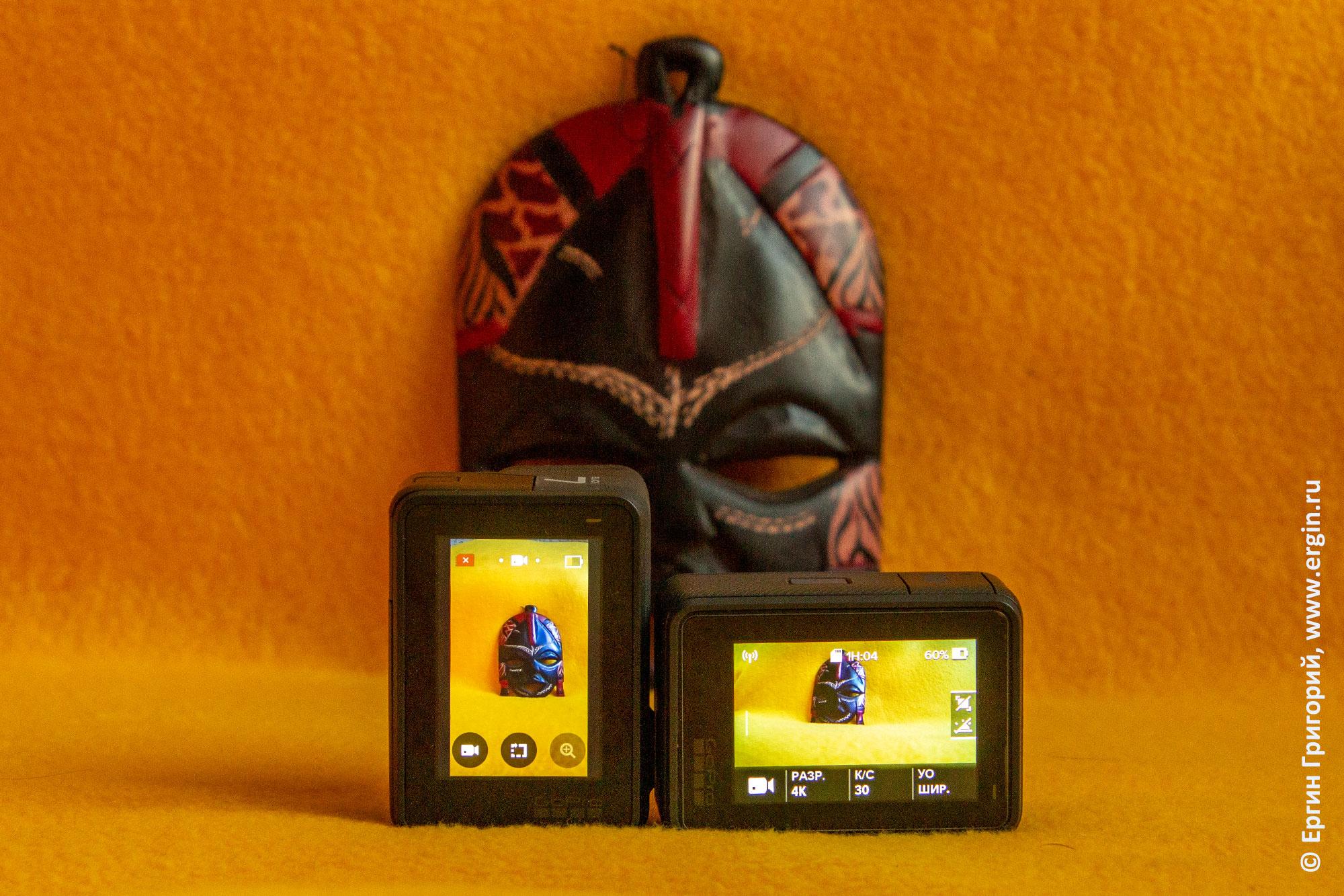 GoPro Hero 7 black вертикальная ориентация и улучшенные цвета