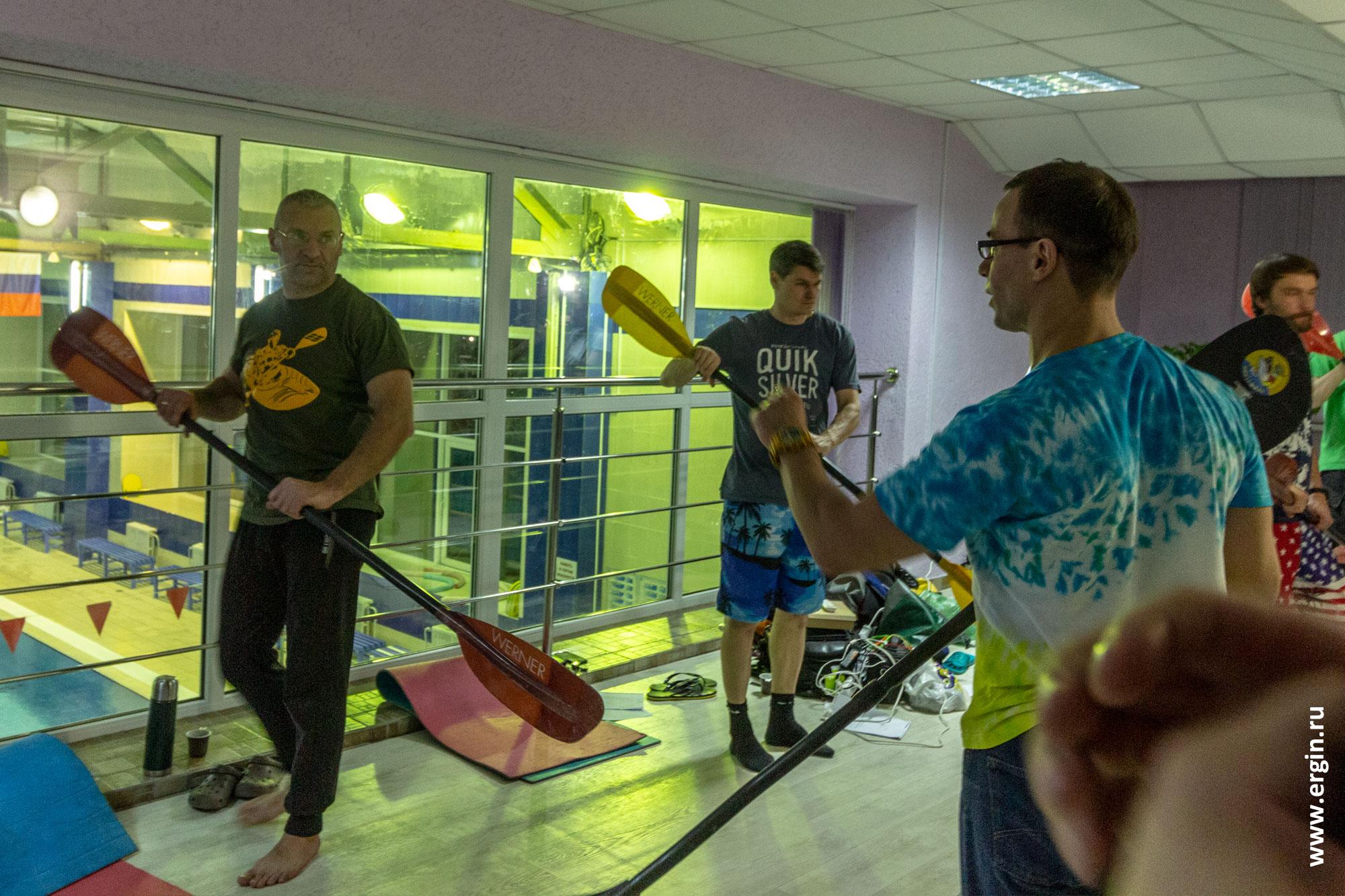 Каяк-школа Новосибирск Дмитрий Россин