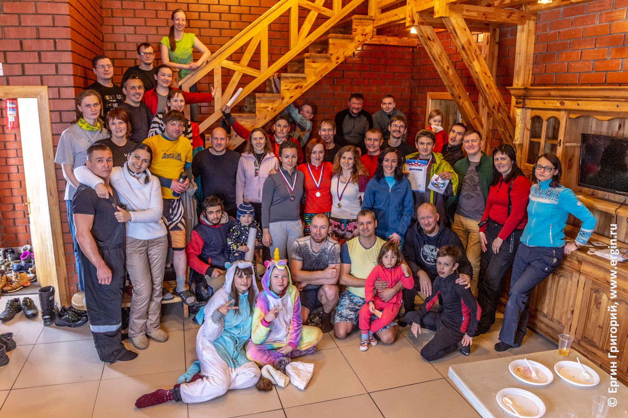 Все участники соревнований по сноукаякингу и фристайлу на бурной воде в Перми