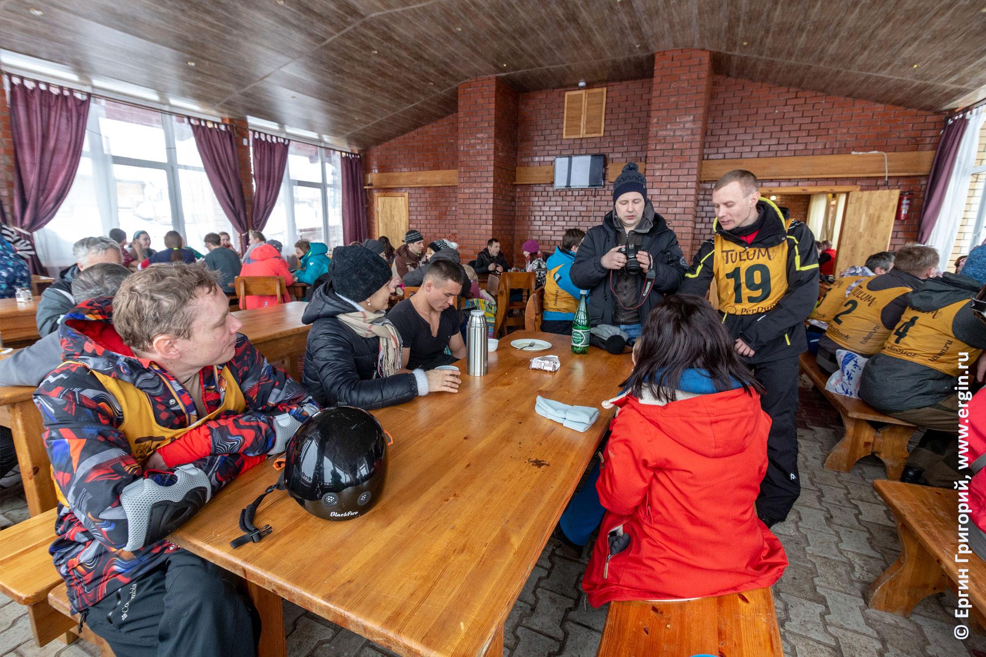 Перерыв между квалификацией и финалом на соревнованиях по сноукаякингу