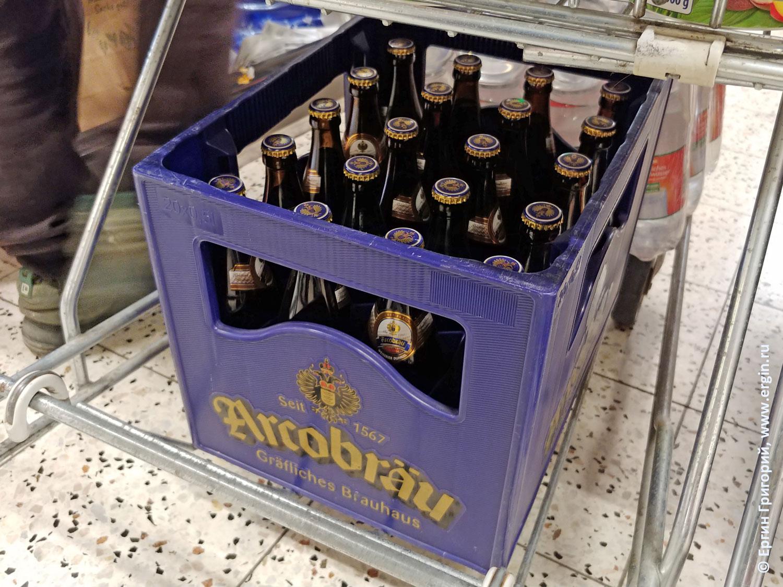 Arcobrau местное баварское пиво в Платтлинге