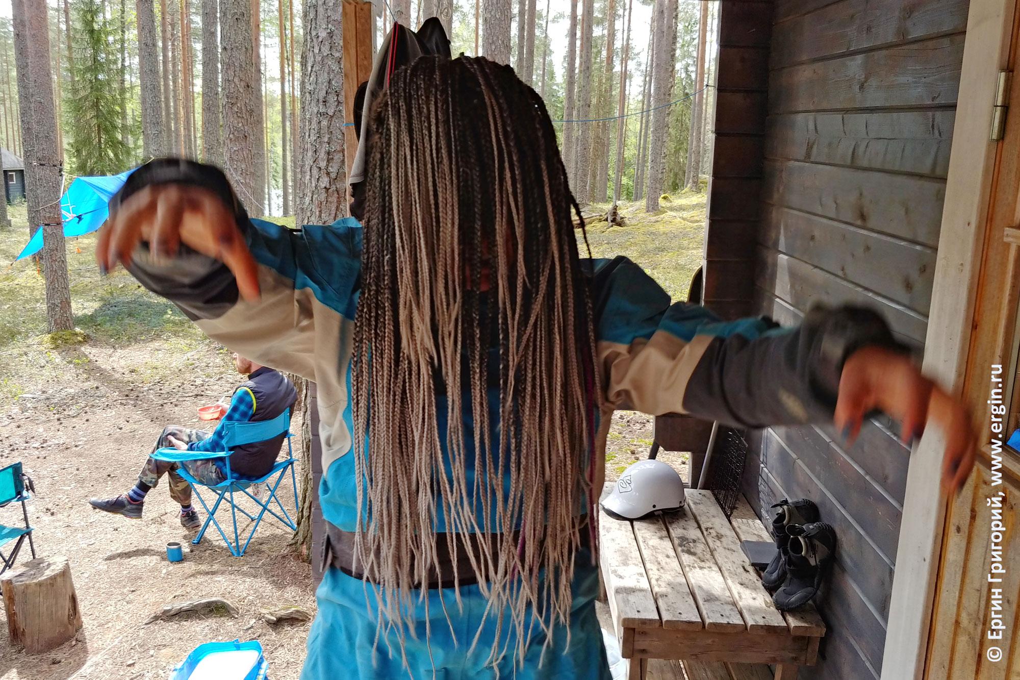 Ужасы каякинга в Финляндии