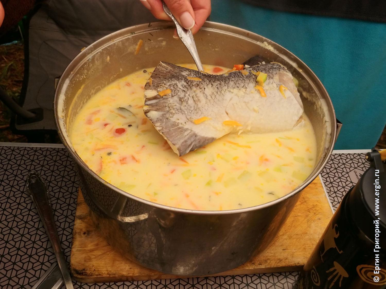 Финский рыбный суп со сливками