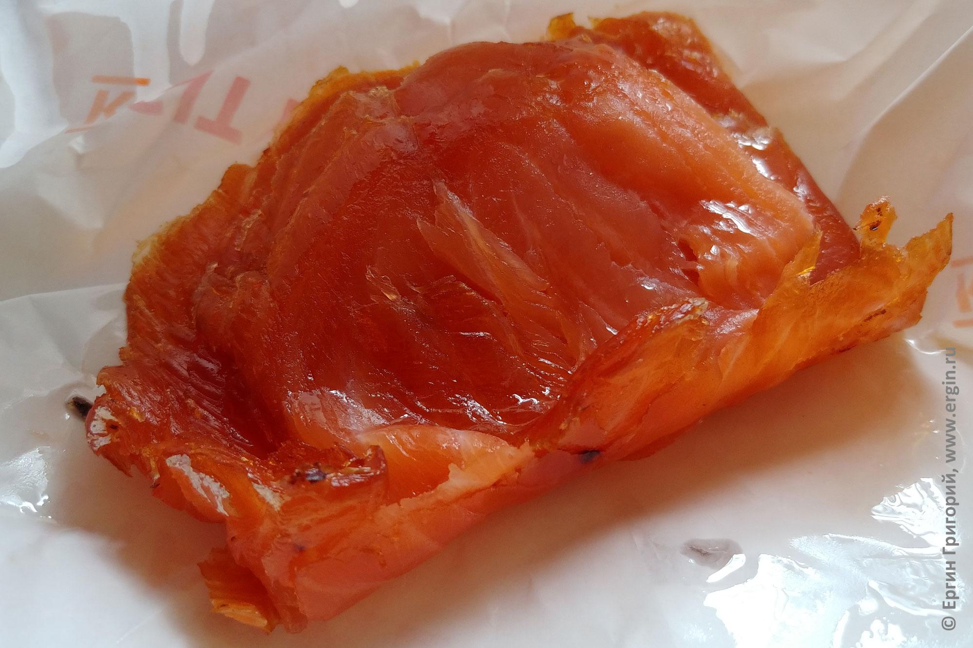 Копченая красная рыба из Финляндии