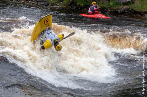 Чемпионат России по фристайлу на бурной воде