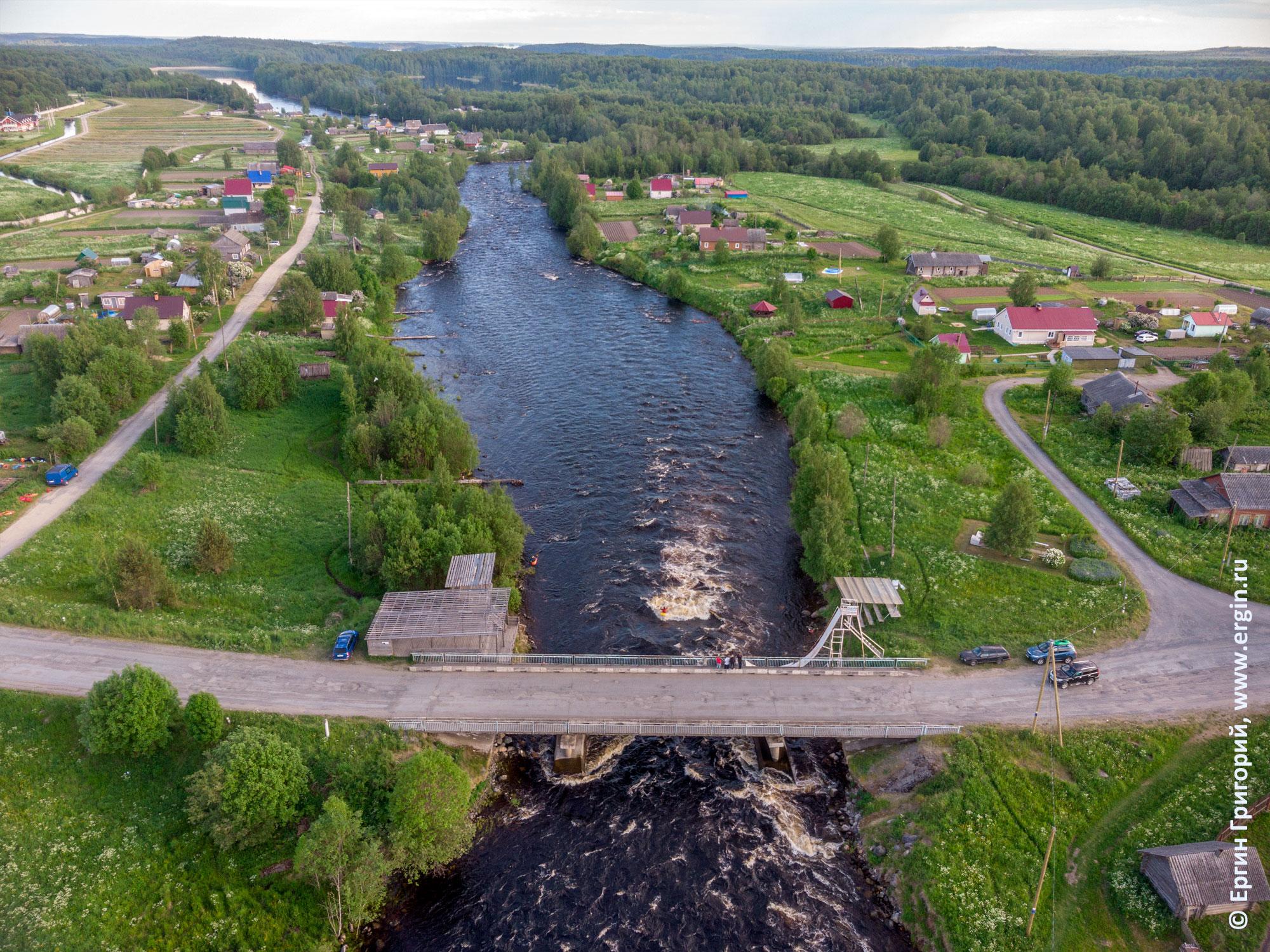 Поселок Тивдия место соревнований по фристайлу на бурной воде