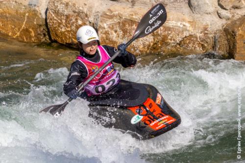 Хитоми Такакю - Чемпионка Мира по фристайлу на бурной воде 2019