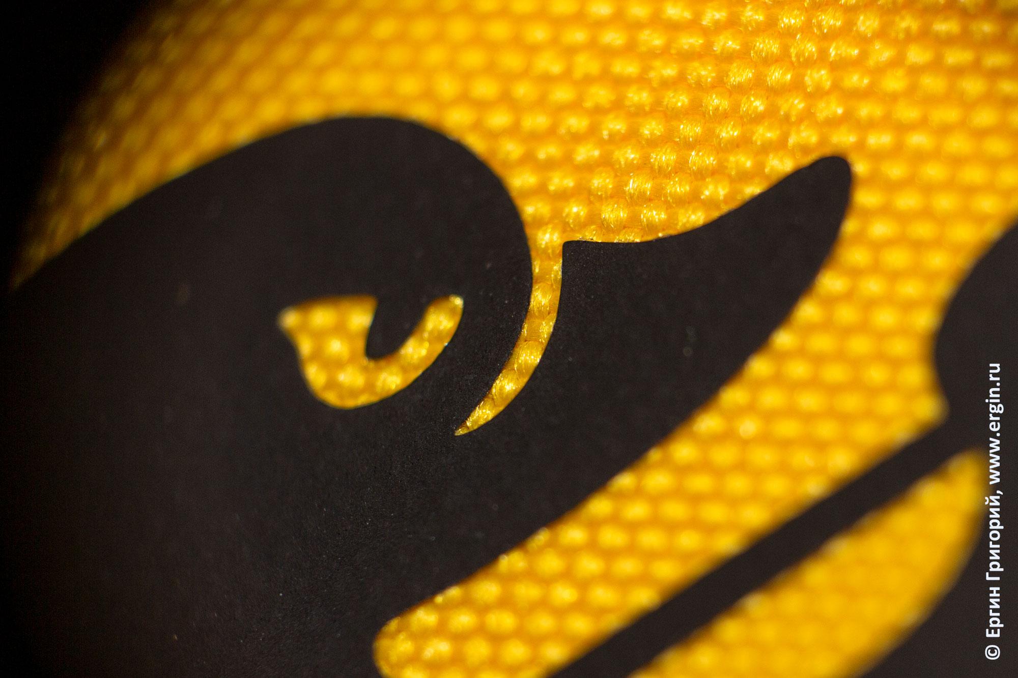 """Нанесение рисунка логотипа на спасательный жилет производства """"Tulum"""" для фристайл-каякинга"""