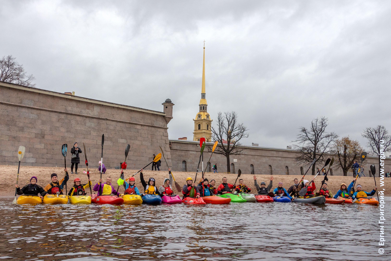 Каякинг в Санкт-Петербурге