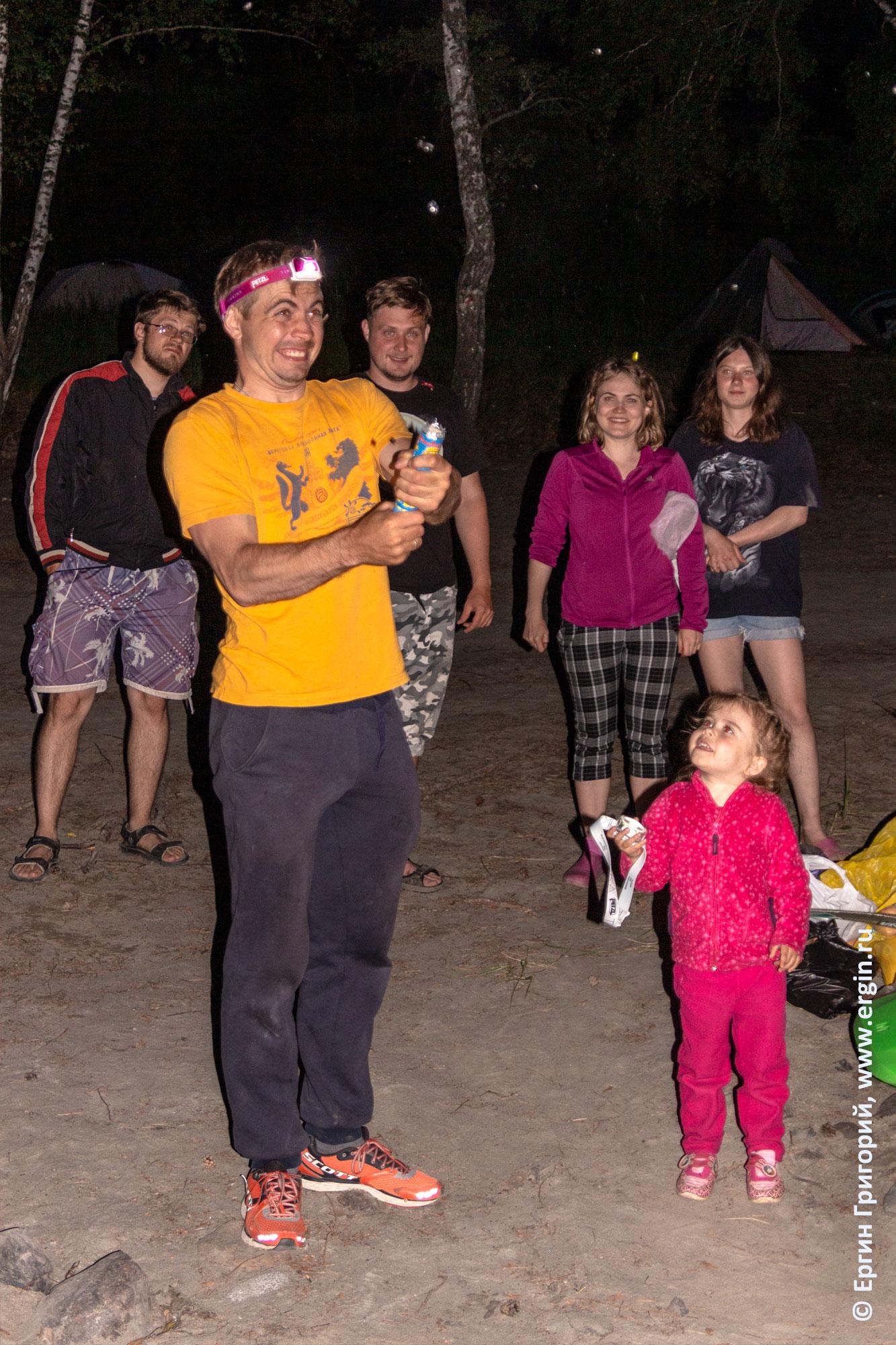Празднуем день Рождения в каяк-туре на Алтае, на Катуни