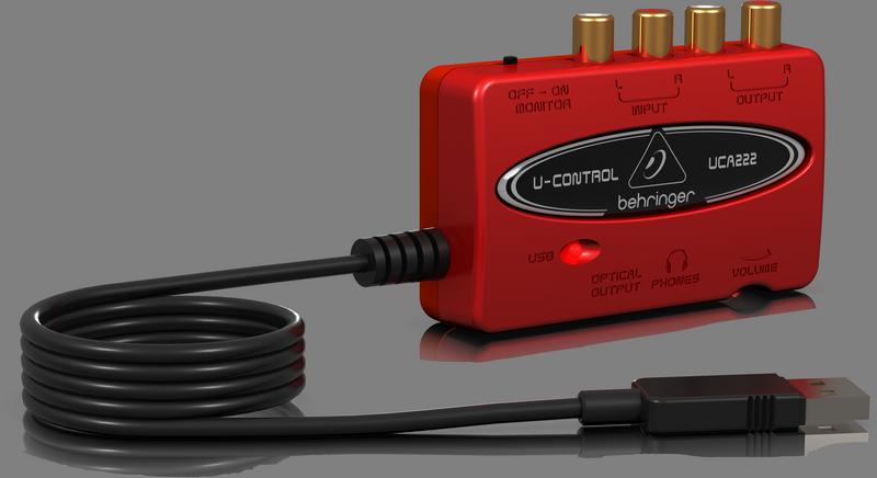 Внешняя USB звуковая карта BEHRINGER U-CONTROL UCA222