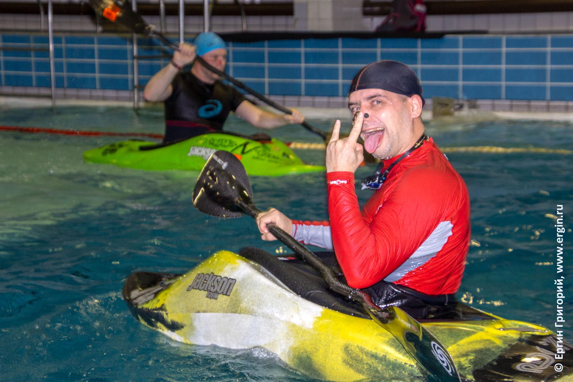 Каякинг в бассейне: фан нереальный!