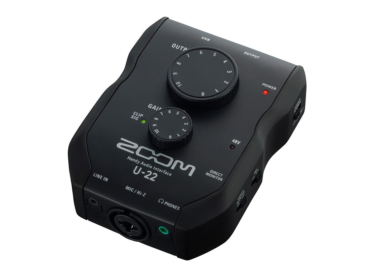 Zoom U-22 внешняя звуковая карта USB для iPhone