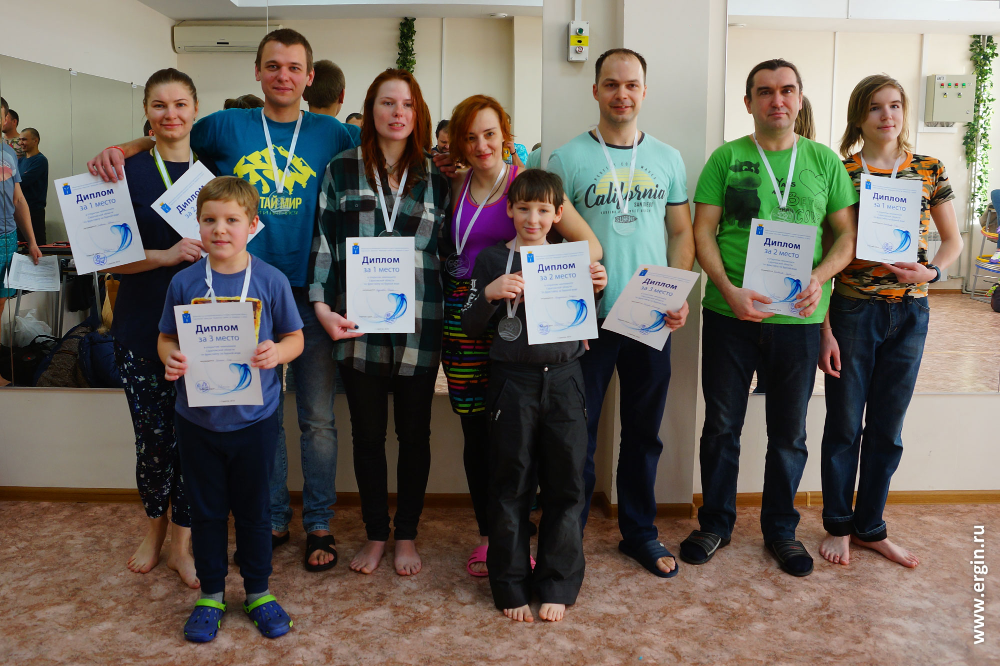 Призеры Чемпионата и Первенства Саратовской области по фристайл-каякингу