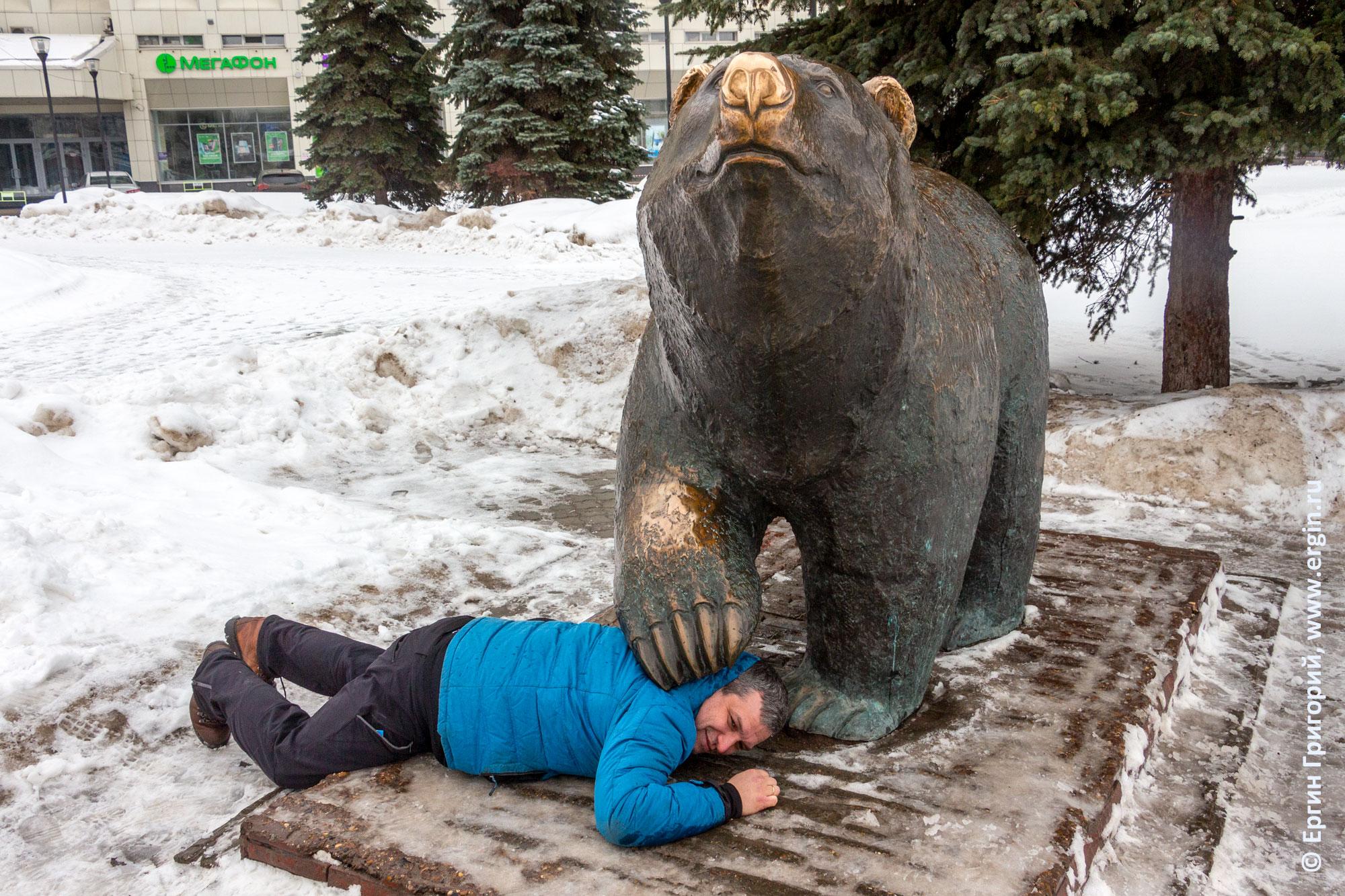 Под лапой пермского медведя