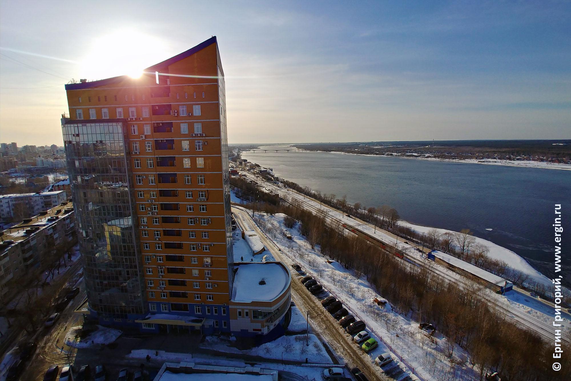 Солнечная Пермь, река Кама