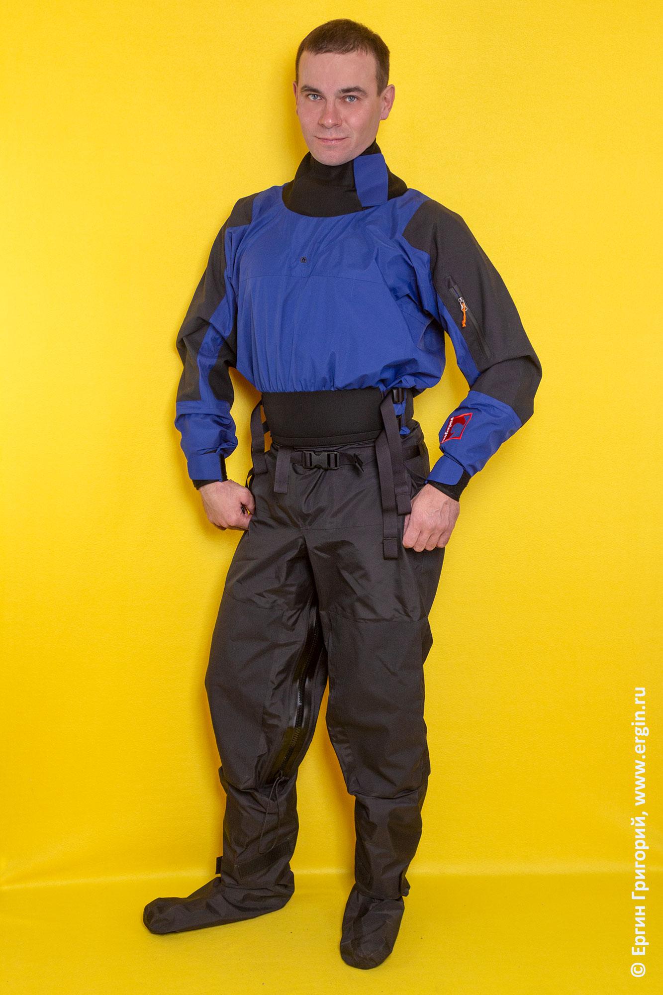 Сухой костюм для каякинга (драйсьют)