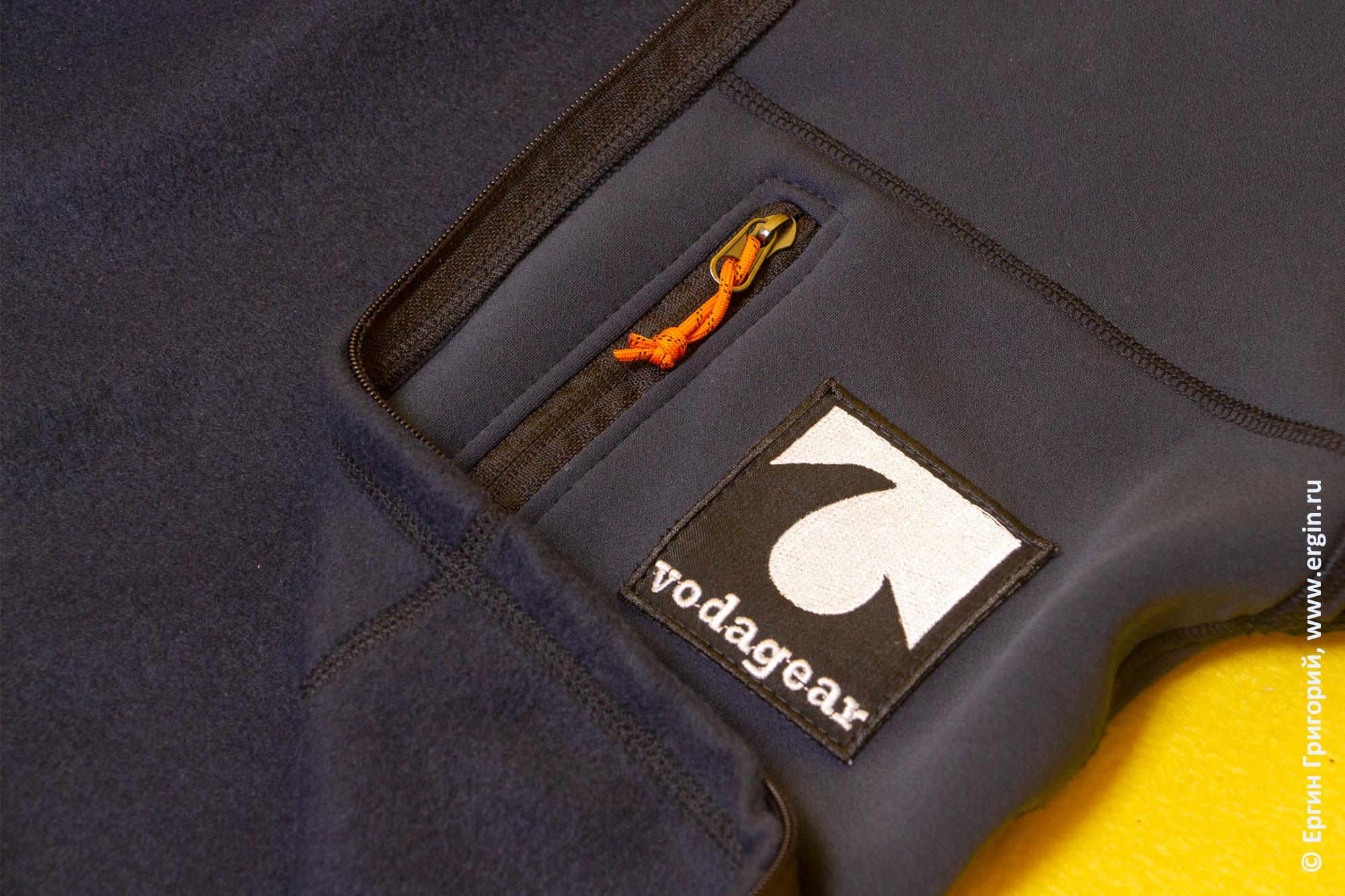 Материал  термобелья для каякинга от VodaGear: полартек