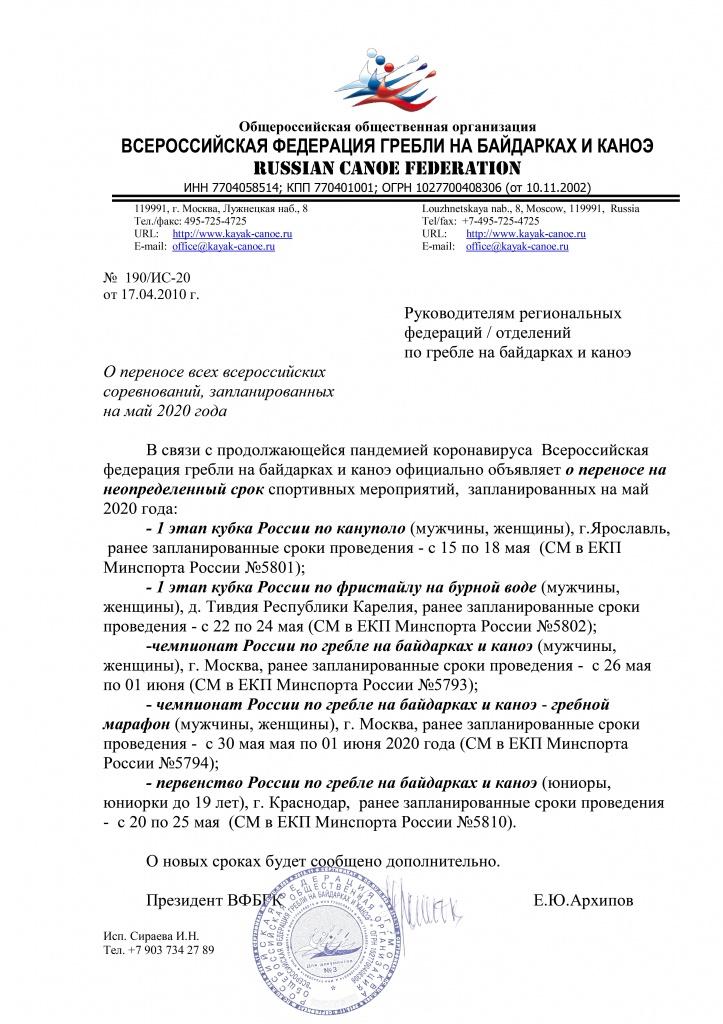 Отмена первого этапа Кубка России по фристайлу на бурной воде в Тивдии