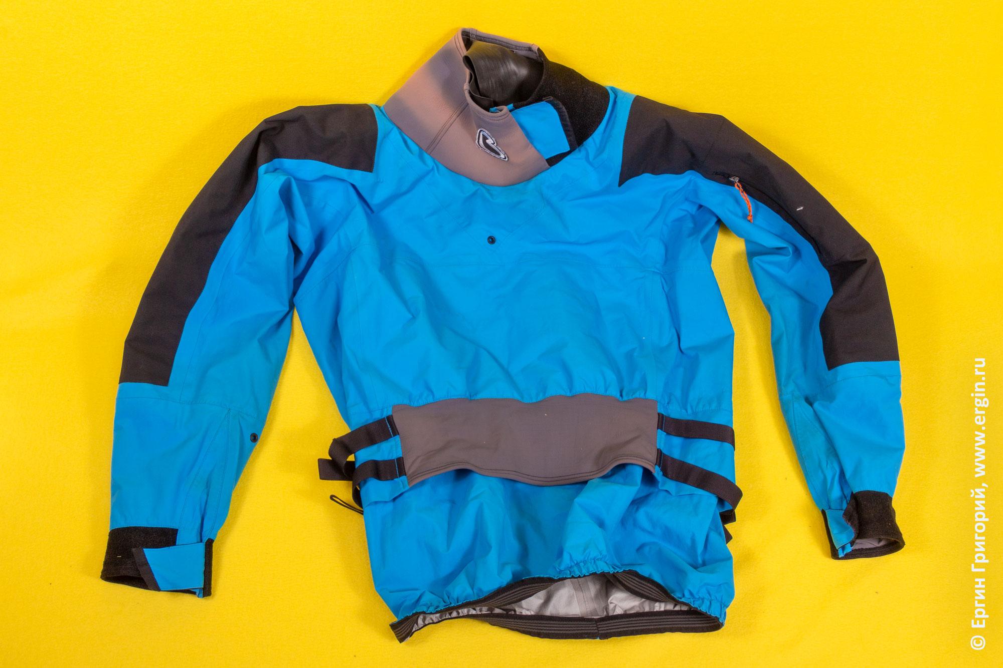 Драйтоп (сухая куртка) для каякинга