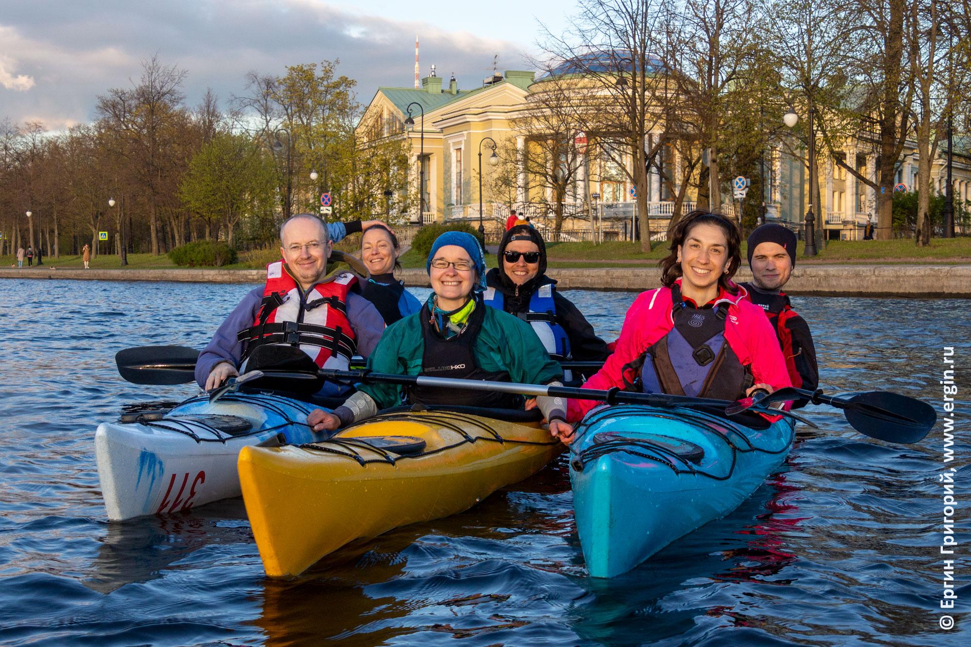 Санкт-Петербургские каякеры