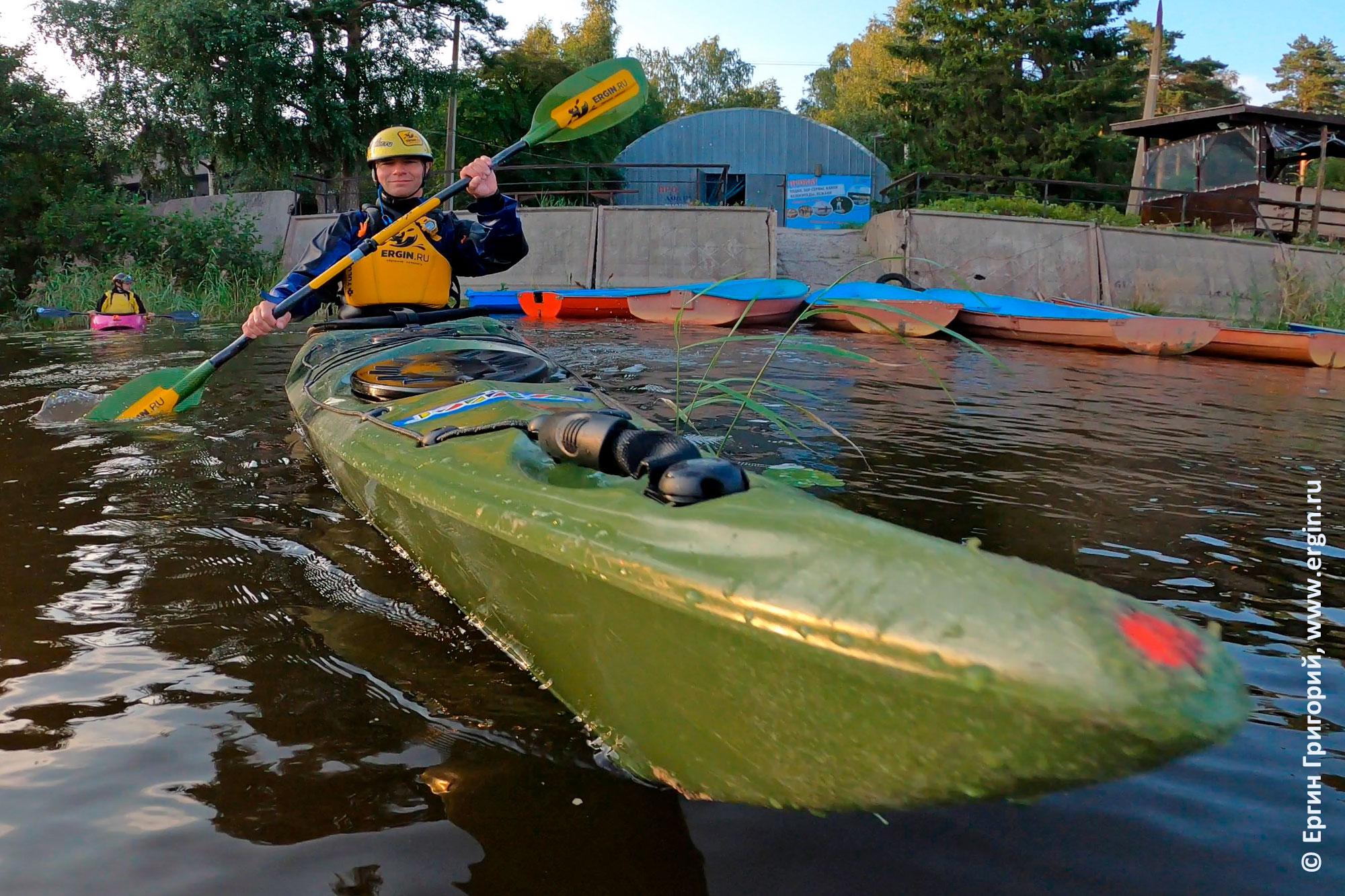 Туристический каяк Winner kayaks Expedition